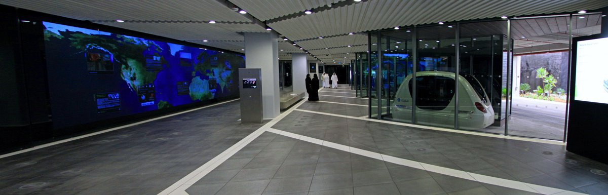 2getthere Personal Rapid Transit in Masdar