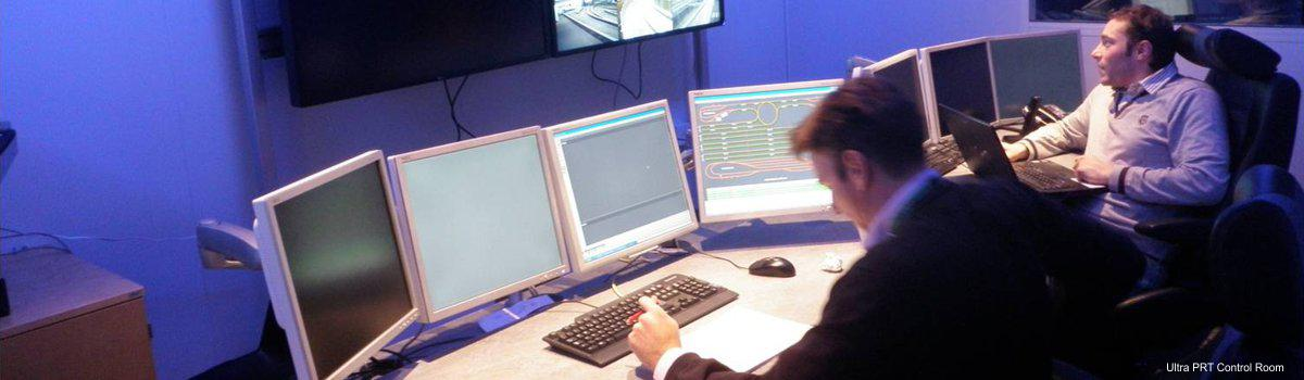 Personal Rapid Transit Control Room in Heathrow
