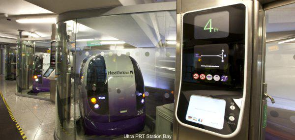 Personal Rapid Transit Check In Station