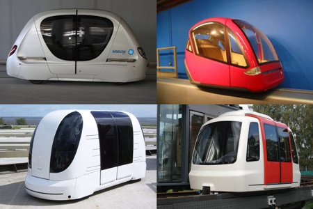 Personal Rapid Transit Vendor Comparison Study